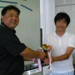 優勝した篠原和隆先生