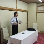 阪根先生による講話